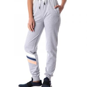 Sweatpants with stipes