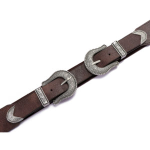 Double Buckle Waist Belt For Women