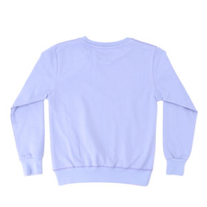 Girls Sweatshirt with Shoulder Ruffles