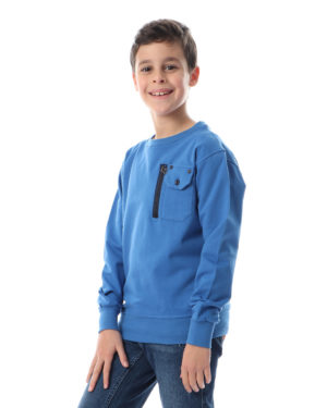 Long Sleeve Top for Boys with Pocket