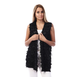 Feather Vest For Women