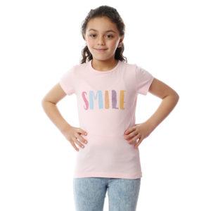 SMILE Tshirt For Girls