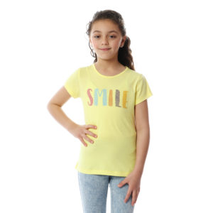 SMILE Tshirt For Girls