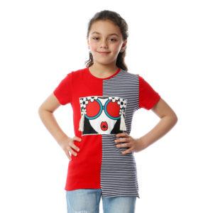 Girl with Earings Tshirt For Girls
