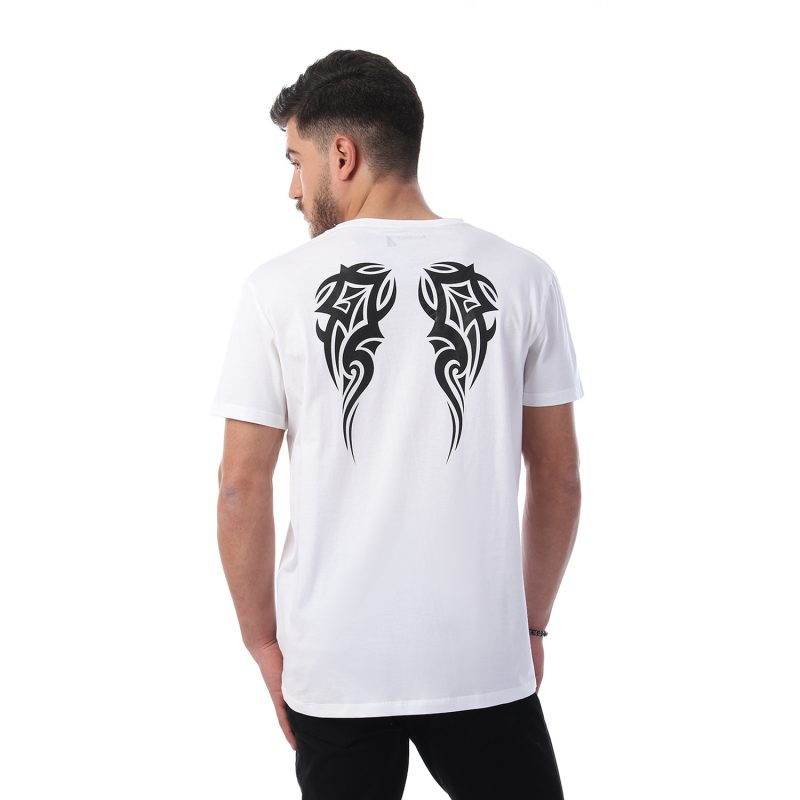 Wings On Back Tshirt Men