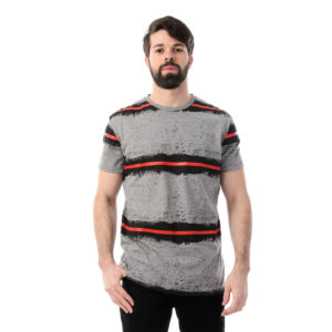 Bleeding Strips Tshirt For Men
