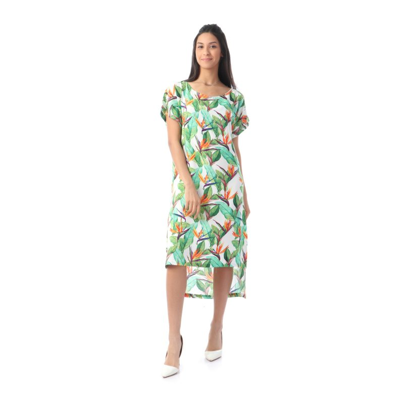 Flowery Dress For Women