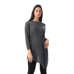 Long Blouse With Waist Accent For Women