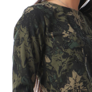 Greeney Blouse With Stones For Women