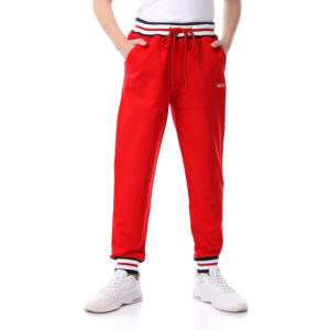 Colorful Waistband Sweatpants For Boys