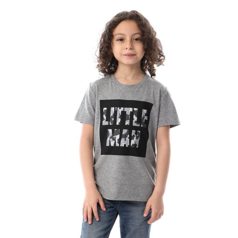Army Little Man Tshirt For Boys